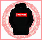 On Sale: Red Supreme Box Hoodie - Multi Colors - Unisex Sweater - Custom Hoodie