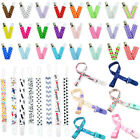 Baby Baby Boy Girl Dummy Pacifier Soother Nipple Leash Strap Chain Clip Holder