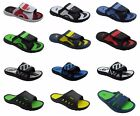 Men Sandals Sports Slip on Slide Comfortable Shower Beach Spa Pool Gym Slippers