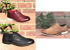 casual oxford shoes for men - O&H Men's Lace Up Oxford Leather Shoes Vintage Tan Work DanceParty Casual Shoe