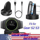 US Charging Cradle Smart Watch Charger Dock For Samsung Gear S2 S3 V700 R380 ov