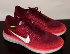 NIKE FREE RN DISTANCE MEN'S RUNNING SHOES 10 10.5 11 New Running Comfort Lava !!