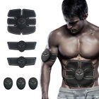 ABS Muscle Smart Abdominal Toning Belt EMS Trainer Wireless Body Fit Workout lot
