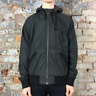 Addict A Stitch Windcheater Hooded Coat/Jacket - Black - S