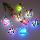 7 Colors Changing Butterfly LED Night Lights Lamps Bedroom Decor For Baby Kids