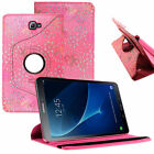 """Leather Folio Case Stand Cover For Samsung Galaxy Tab A6 10.1"""" (2016) T580 /T585"""