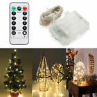 2-10M Battery Operated LED String Fairy Lights Xmas Wedding Party Decor /Remote
