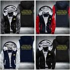 The New Star wars 3D Print Men's Hoodie Zipper Coat Winter Jacket Sweatshirts $38.99 USD