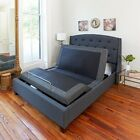 Adjustable Bed Frame Queen Size Electric Base Massage Wireless Remote USB Charge