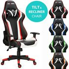 RG-MAX Pro Reclining Sports Racing Gaming Car Office Desk PC Faux Leather Chair