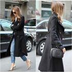 Zara Military Style Black Wool Coat & Gold Buttons Size Xs/s/m/l - Uk 6/8/10/12