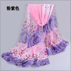 New Fashion Stylish Women Long Soft Chiffon Scarf Wrap Shawl Scarves