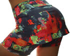 Women Shorts w/ Skirt attached 2-in-1 Workout Tennis Running Light Supplex SML