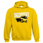 Discovery, Mens Off Roading Hoodie - Gift for Dad Him