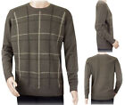 New Ex Edinburgh Woollen Mill Men's Pure Wool Jumper Crew Neck Sweater Size S-XL