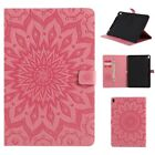 KT SUNFLOWER ULTRA THIN PU LEATHER CASE COVER STAND For Tablets Pink