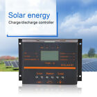 60A/80A 12/24V LCD USB Solar Panel Battery Regulator Charge Discharge Controller