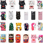 iphone 4 silicone case - Cartoon Silicone Soft Dropproof Kid Cover Case For iPod Touch 5 iPhone X 6 P 7P