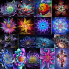 Fantasy Flower DIY 5D Diamond Painting Embroidery Cross Crafts Stitch Kit Decor