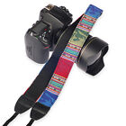 Cool Camera Shoulder Neck Strap Belt For SLR DSLR Nikon Canon Sony Panasonic Pip
