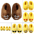 New Emoji Unisex Slippers Winter Warm Home Shoes Indoor Plush Slippers Gift