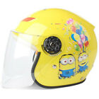 Kids 2~9 years old Motorcycle Helmet Cartton Bike Half Helmet Skating JET Helmet