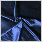 2 YARDS VELVET FABRIC 58 INCHES WIDE SOLD BY THE YARD FOR UPHOLSTERY