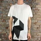 WESC Kubism Placement Casual T-Shirt,Tee Brand New - Size: L