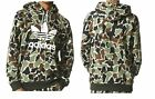 Men's adidas Originals CAMOUFLAGE PULL-OVER HOODIE CAMO//WHITE BS4952