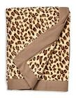 New Authentic Ugg Australia Davenport Luxurious Throw Blanket Leopard Print