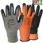 Cut Level Three 3 Nylon PU Coated Anti Cut Proof Resistant Safety Work Gloves