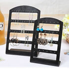 1X Earrings Ear Studs Display Rack Stand Jewelry Organizer Holder 24/48 Holes k;