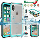 Waterproof Shockproof Dirt Proof Full-Body Protective Case for Apple iPhone X/10