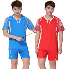 Rio Olympic National Team Li Ning Badminton suit T-Shirts fast dry shorts
