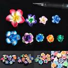 Wholesale Mixed Polymer Clay Flowers Spacer Loose DIY Beads Craft 11-30mm