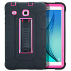 "For Samsung Galaxy Tab E 9.6 8.0"" Tablet Heavy Duty Hybrid Armor Hard Case Cover"