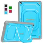 For Amazon Fire 7 / HD 8 / HD 10 2017 ShockProof Case 360 Rotating Carry Cover