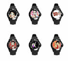 Betty BoOp Black White Pink So many Colors Soft Plastic Rubber Wrist Watch $32.04 CAD