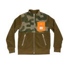 Poler Outdoor Stuff Half Fleece Jacket Camo