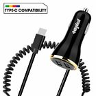 FAST Rapid Car Charger Type C USB-C Charging Adapter For Samsung S9 S10 S20 Plus