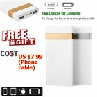 80000mAh Power Bank Pocket-sized USB Battery Charger For Apple iPhone 6 7 8 Andriod