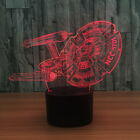 Star Trek 3D Wireless Bluetooth Speaker Night Light Color Change Table Desk Lamp