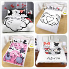 Disney Mickey Minnie Mouse Couple Love Quilt Cover Bedding Duvet Cover Sets 3pcs image