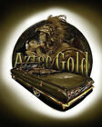 """""""Aztec Gold"""" with Lowrider Car Eagle Latino Mexican Pride Tribal Art Poster"""