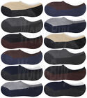 Lot of 6-12 Pairs Mens No Show Low Cut Boat Socks Cotton Loafer Liner Size 10-13