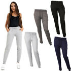New Ladies Womens Sports Gym Sweat Pants Joggers Comfort Tracksuit Bottoms Sizes
