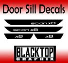 Scion xB Vinyl Door Sill Decals vip jdm 2008 2011 2012 2013 2014 2015 2016 2017. on eBay
