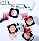 Avon mark. Dual Glow Cheek Colour and Highlighter, NEW, boxed, choose your shade