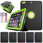 For Apple iPad 9.7 2017 Air 2 Smart Shockproof Case Heavy Duty Armor Stand Cover