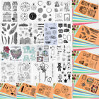Transparent Silicone Clear Stamp Seal Sheet Cling Scrapbook Album Decor Craft